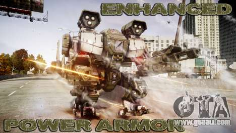 Enhanced Power Armor for GTA 4