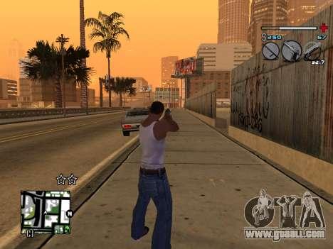 C-HUD Universal v3 for GTA San Andreas sixth screenshot