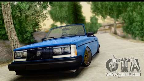 Volvo 242 Cabrio for GTA San Andreas