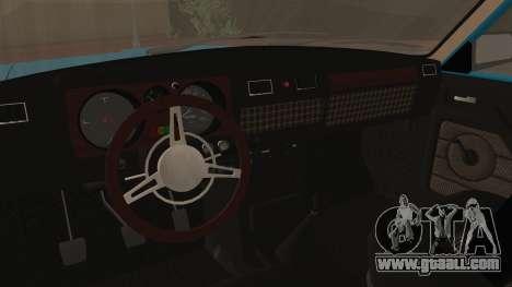GAZ 3102 for GTA San Andreas back view