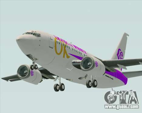 Boeing 737-500 Okay Airways for GTA San Andreas