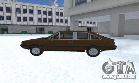 FSO Polonez 2.0X Coupe for GTA San Andreas left view