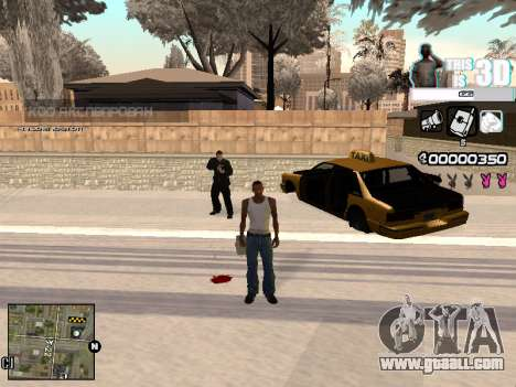 C-HUD 3D for GTA San Andreas