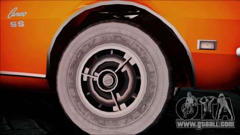 Chevrolet Camaro 350 for GTA San Andreas