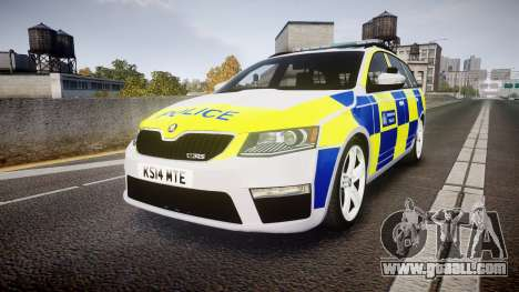 Skoda Octavia Combi vRS 2014 [ELS] Traffic Unit for GTA 4