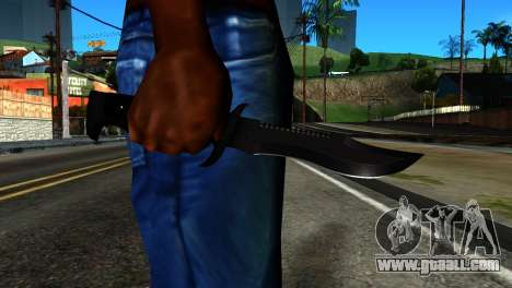 New Knife for GTA San Andreas third screenshot