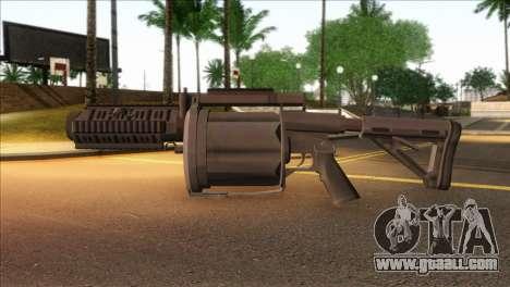 Rocket Launcher from GTA 5 for GTA San Andreas third screenshot