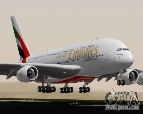 Airbus A380-800 Emirates (A6-EDH) for GTA San Andreas