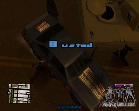 Space C-HUD v2.0 for GTA San Andreas second screenshot