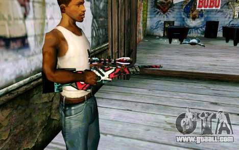 AWP L96А1 (Looney) for GTA San Andreas second screenshot