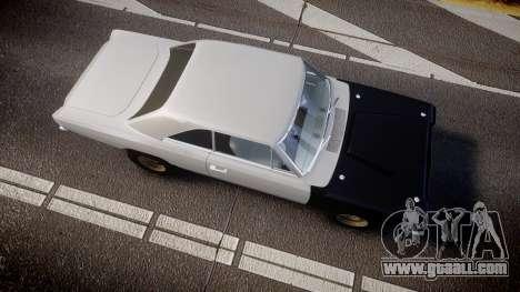 Dodge Dart HEMI Super Stock 1968 rims1 for GTA 4 right view