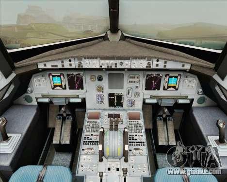 Airbus A320-200 Air New Zealand for GTA San Andreas interior