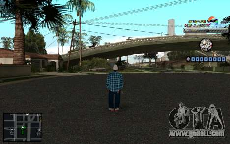 C-HUD SWAG Killerz for GTA San Andreas second screenshot