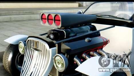 GTA 5 Hotknife for GTA San Andreas back left view