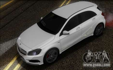 Mercedes-Benz A45 AMG for GTA San Andreas back view