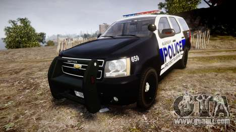 Chevrolet Tahoe 2010 Police Algonquin [ELS] for GTA 4