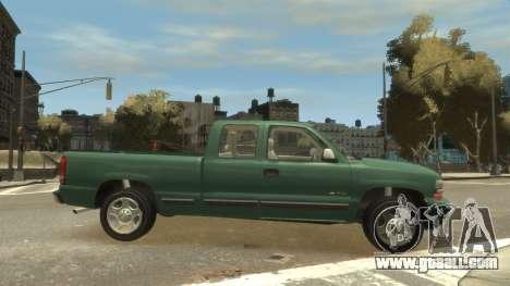 Chevrolet Silverado 1500 for GTA 4 inner view