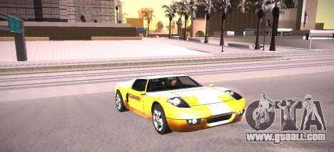 ENB by NIKE for GTA San Andreas fifth screenshot