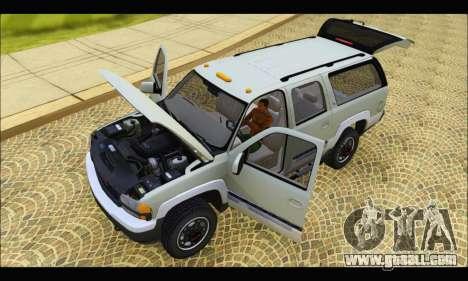 GMC Yukon XL 2003 v.2 for GTA San Andreas back view