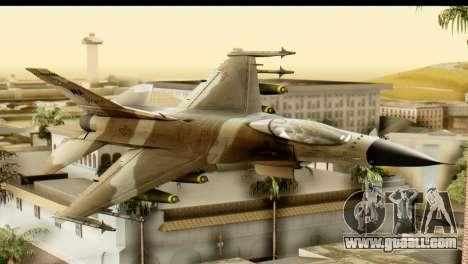 F-16 Fighter-Bomber Desert Camo for GTA San Andreas