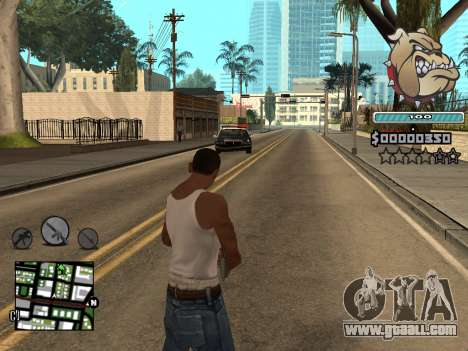 C-HUD Universal for GTA San Andreas