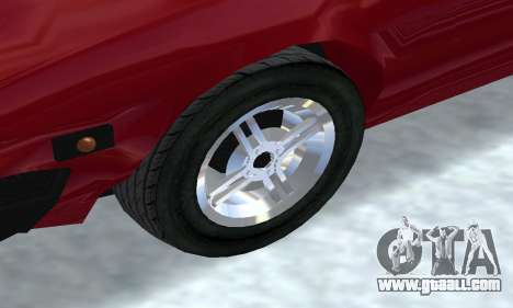 Fiat Bertone X1 9 for GTA San Andreas