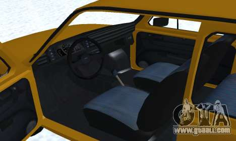 Fiat 126p FL for GTA San Andreas engine