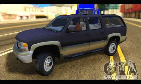 GMC Yukon XL 2003 for GTA San Andreas left view