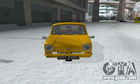 Reliant Supervan Only Fools and Horses for GTA San Andreas right view