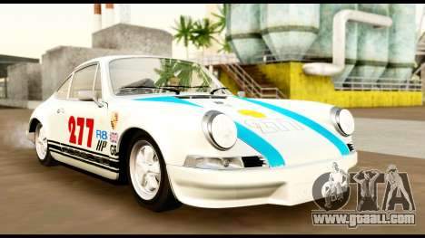 Porsche 911 Carrera 2.7RS Coupe 1973 Tunable for GTA San Andreas upper view