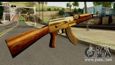New AK47 for GTA San Andreas second screenshot