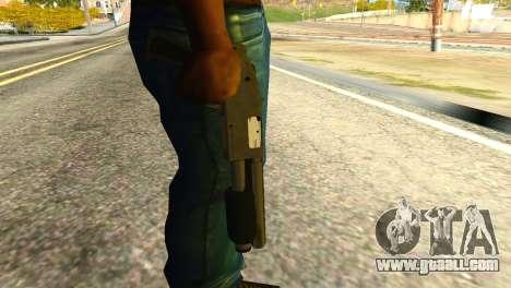 Sawnoff Shotgun from GTA 5 for GTA San Andreas third screenshot