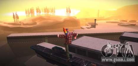ENB by NIKE for GTA San Andreas forth screenshot