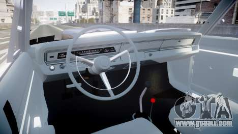 Dodge Dart HEMI Super Stock 1968 rims2 for GTA 4 back view