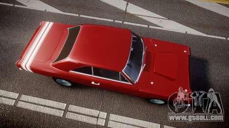Dodge Dart HEMI Super Stock 1968 rims2 for GTA 4 right view