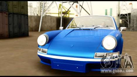 Porsche 911 Carrera 2.7RS Coupe 1973 Tunable for GTA San Andreas bottom view