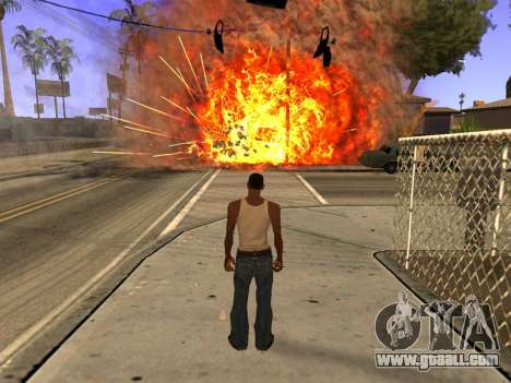 New Realistic Effects 4.0 Full Final Version for GTA San Andreas forth screenshot