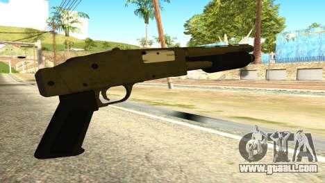 Sawnoff Shotgun from GTA 5 for GTA San Andreas second screenshot