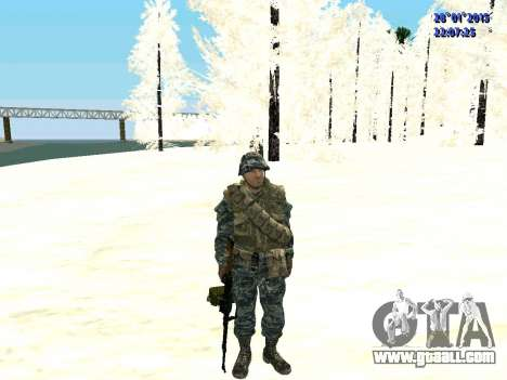 The special forces of the Russian Federation (Co for GTA San Andreas second screenshot