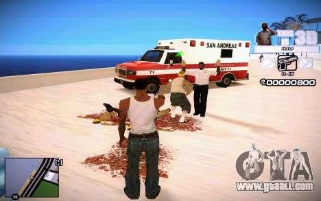 HUD 3D for GTA San Andreas third screenshot