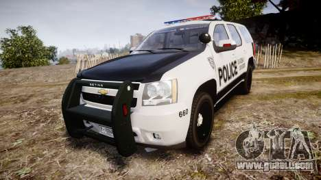 Chevrolet Tahoe 2010 Sheriff Dukes [ELS] for GTA 4