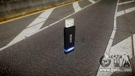 USB flash drive Sony blue for GTA 4 second screenshot