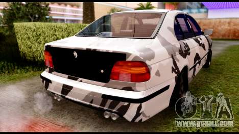 BMW M5 E39 for GTA San Andreas back left view