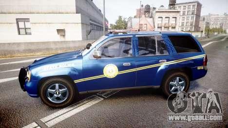 Chevrolet Trailblazer Virginia State Police ELS for GTA 4 left view