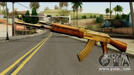 New AK47 for GTA San Andreas