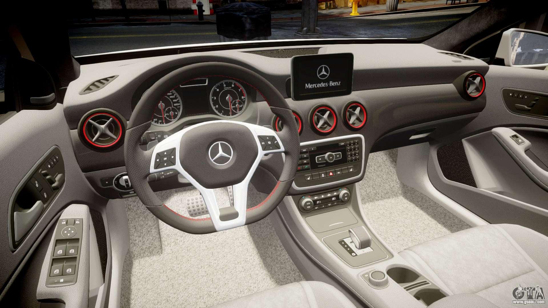 Mersedes Benz A45 Amg Pjs2 For Gta 4