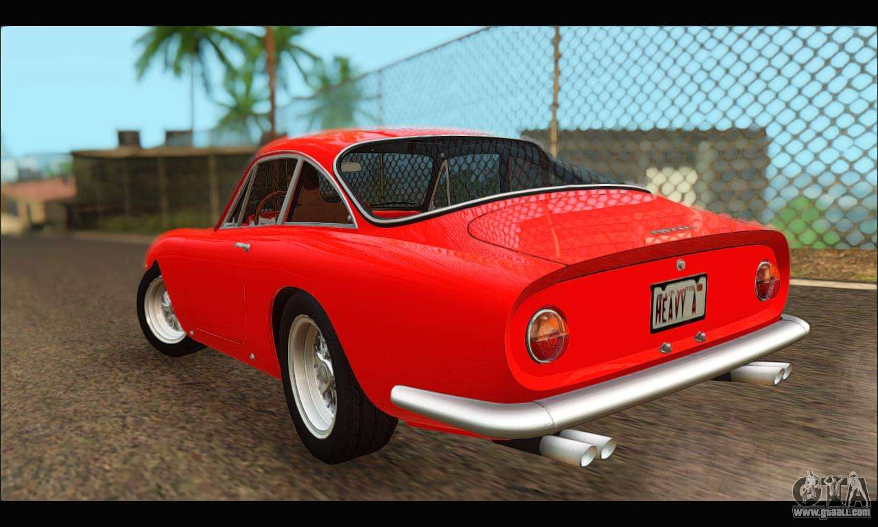 Ferrari 250 GT Berlinetta Lusso 1962 (HQLM) for GTA San Andreas