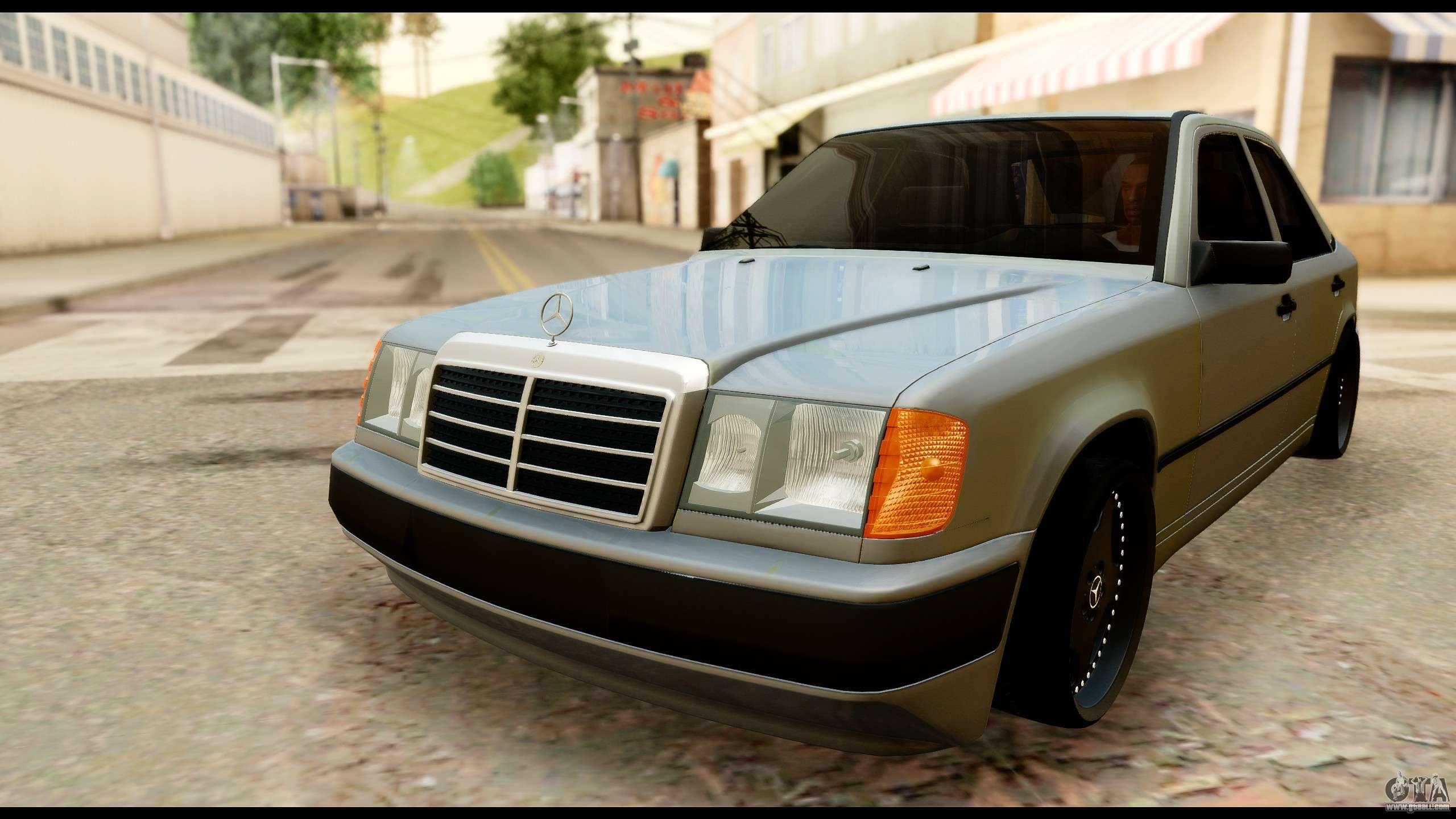 Mercedes benz 190e for gta san andreas for 190e mercedes benz