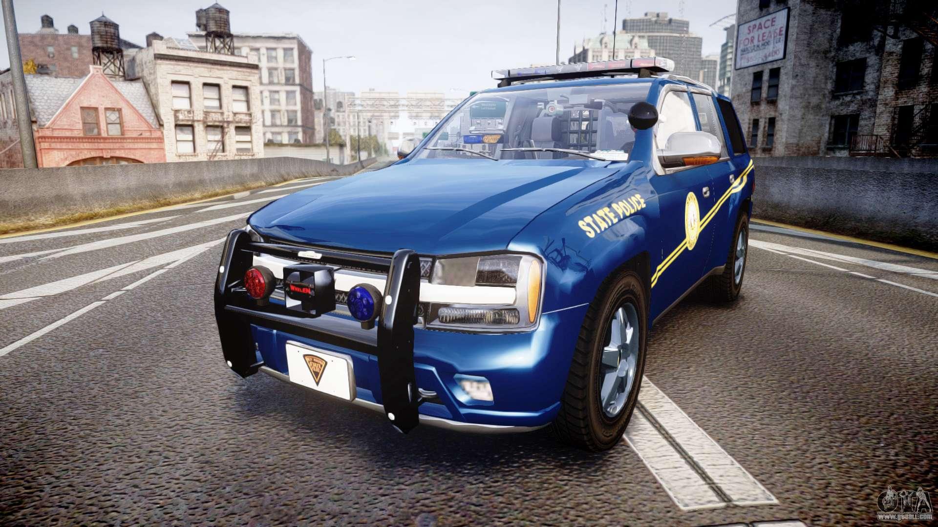 Chevrolet Trailblazer Virginia State Police ELS for GTA 4