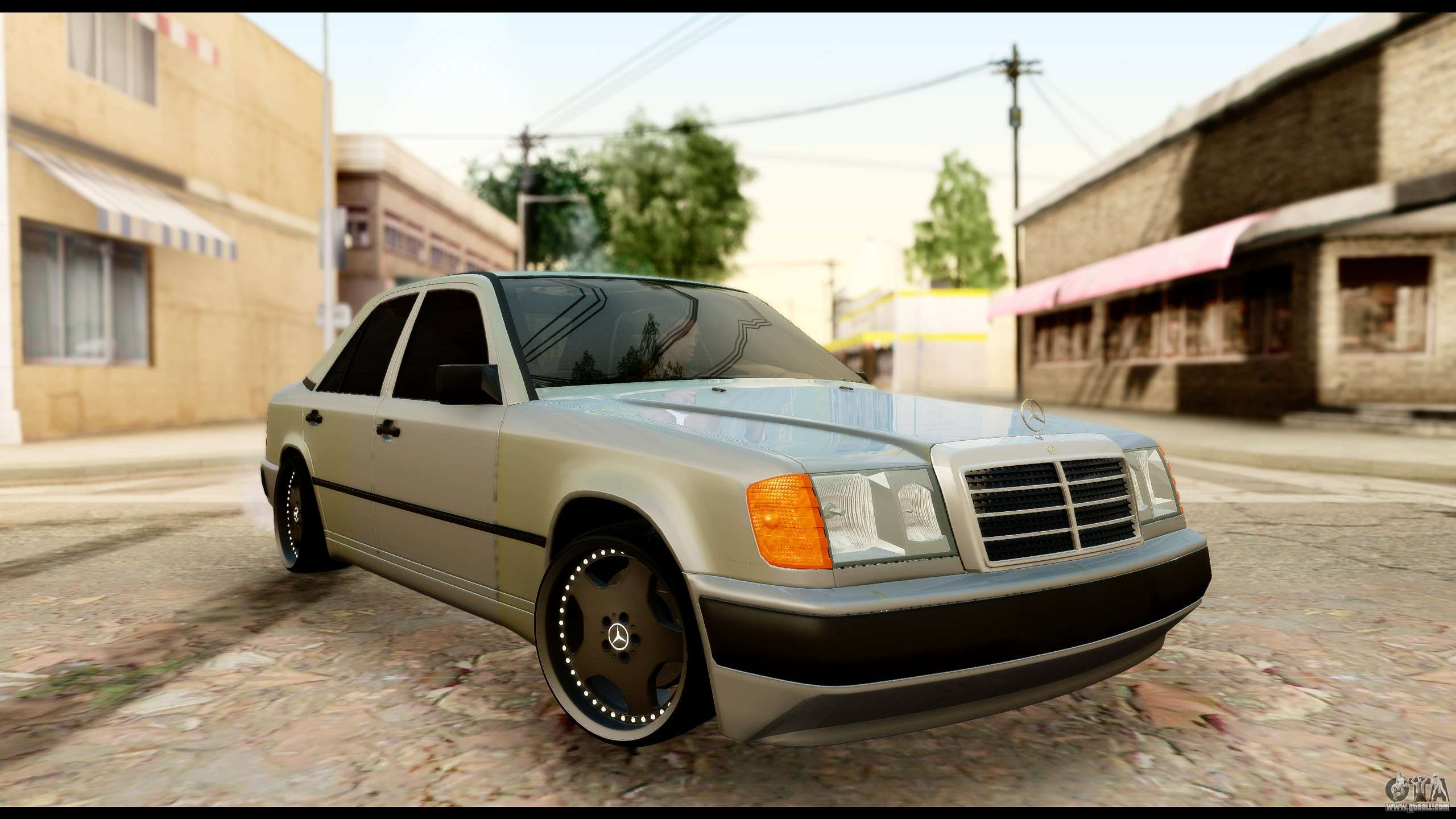 Mercedes benz 190e for gta san andreas for Mercedes benz gta